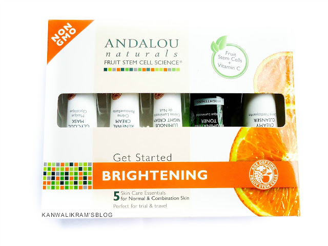 Andalou Naturals Brightening Skin Care Kit