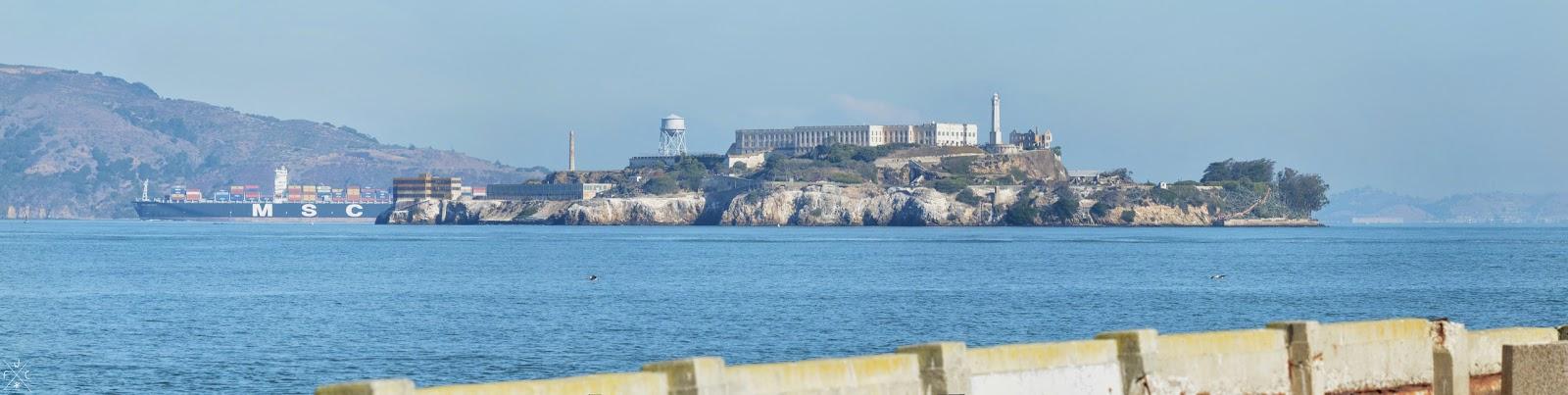 Alcatraz Island, San Francisco Bay, Californie, USA
