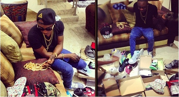 Photos: Sean Tizzle Goes On Shopping Spree
