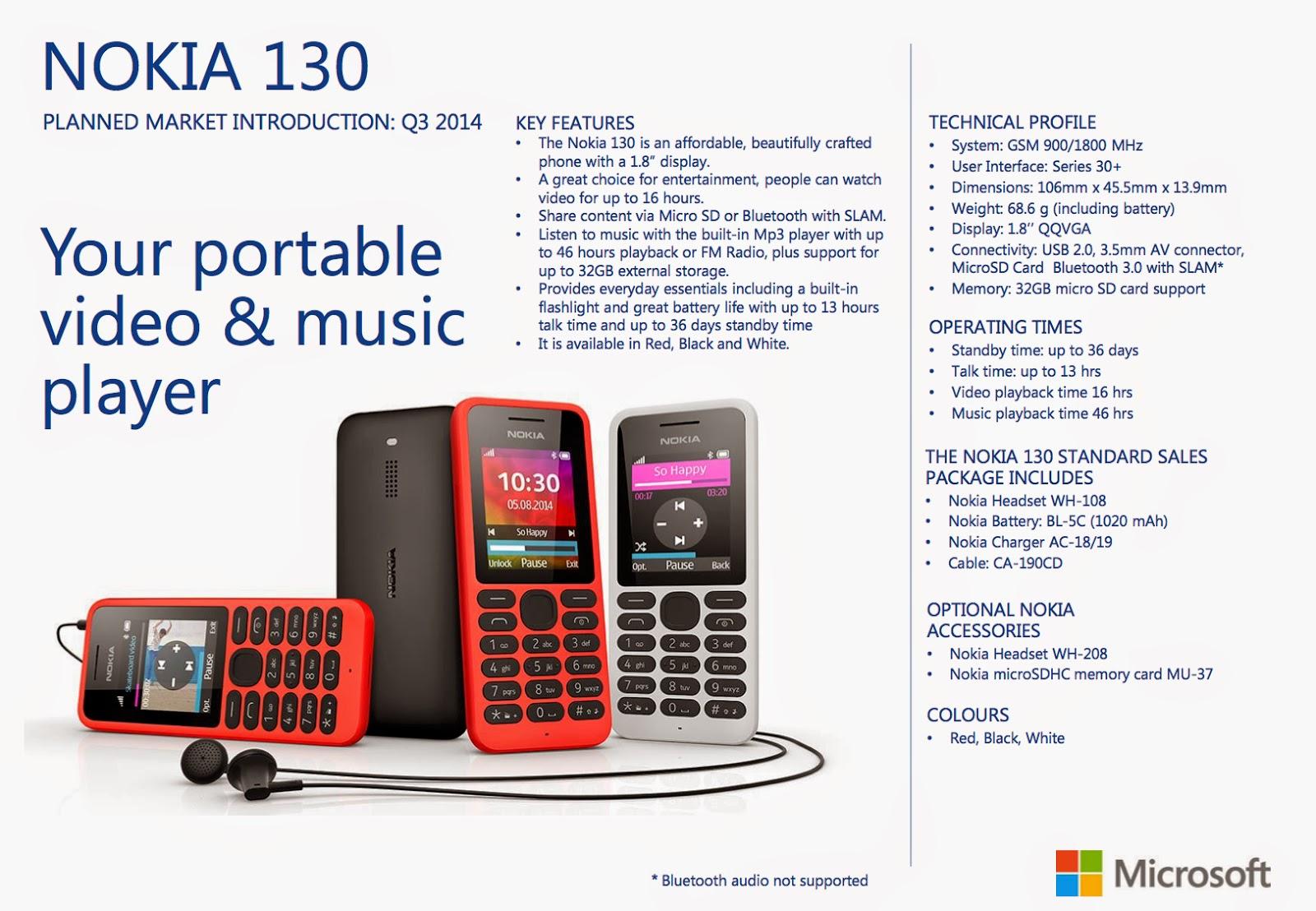 Harga Nokia 130 Dual SIM