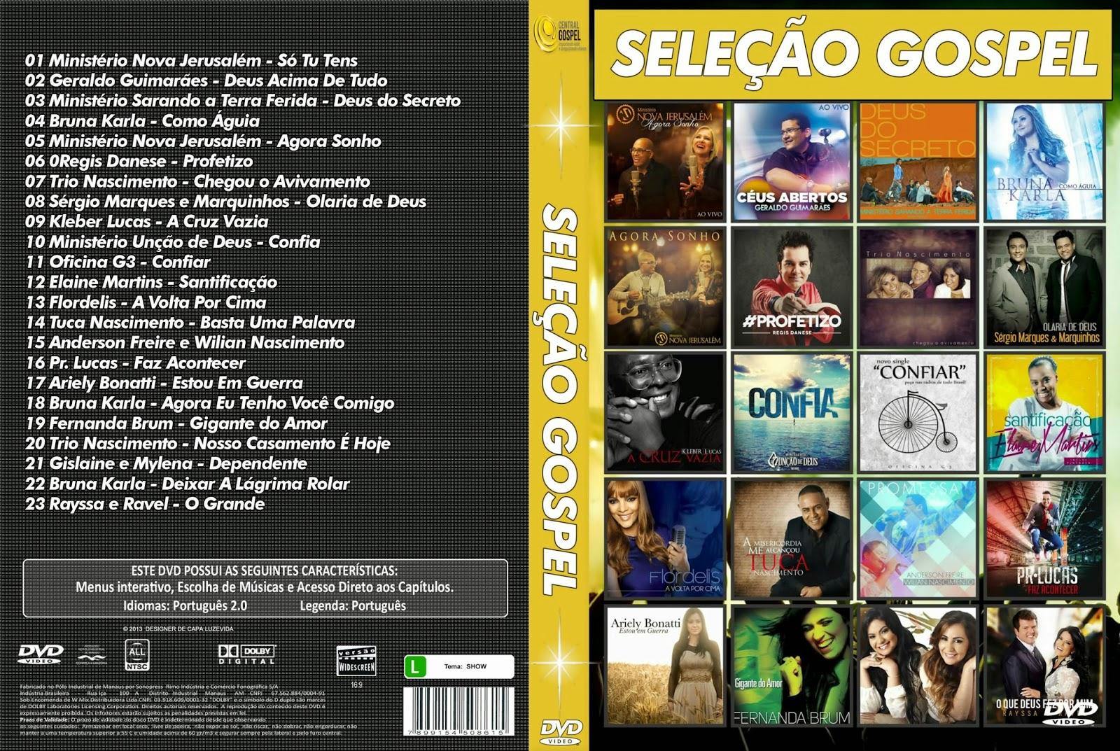 Baixar Seleção Gospel DVD-R 31INwus