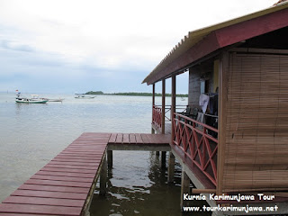 blue laguna inn karimunjawa apung