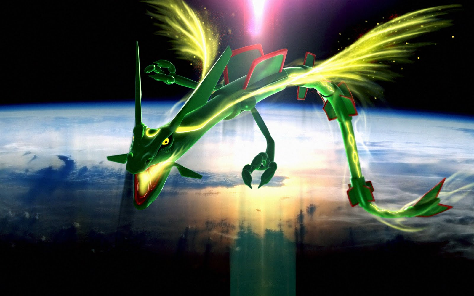 Magnificent Rayquaza Pokemon Ruby and Sapphire Alpha Omega 1600 x 1000 · 136 kB · jpeg