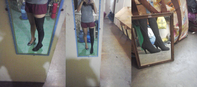 Cosplay Misadventures Of Bunny Iinchou Stretch Boot Cover