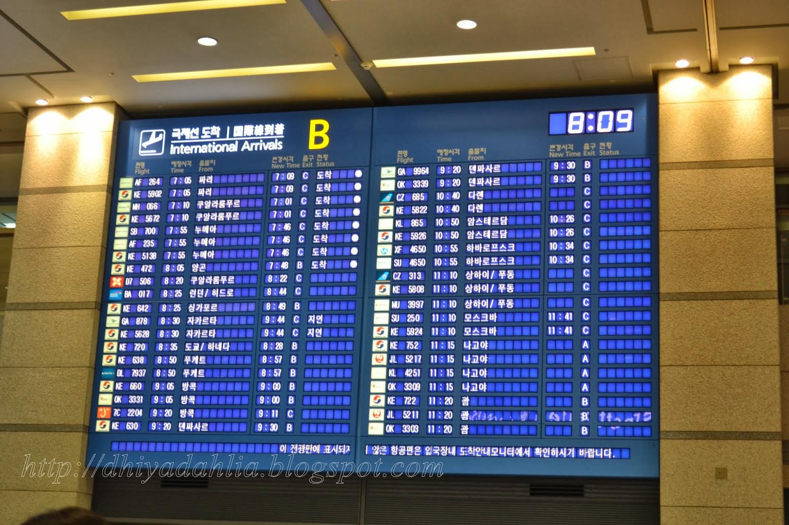 Travelog Korea Tiba di Daejeon 21 September 2013 repost