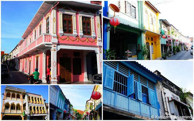 Sino-Portuguese Architecture Phuket Thailand