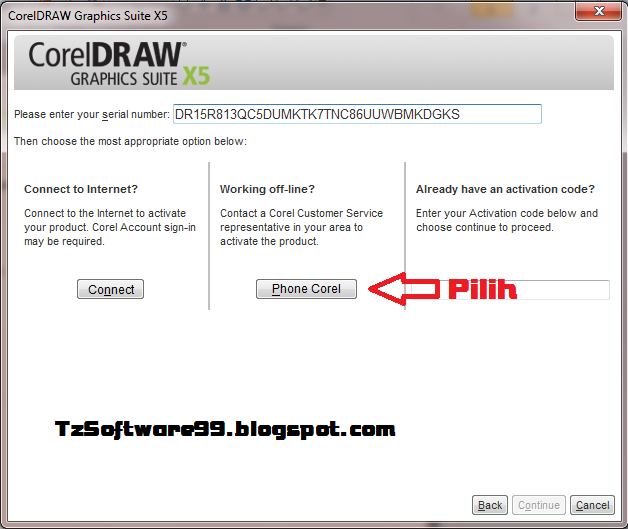 coreldraw graphics suite x5   crack with serial number