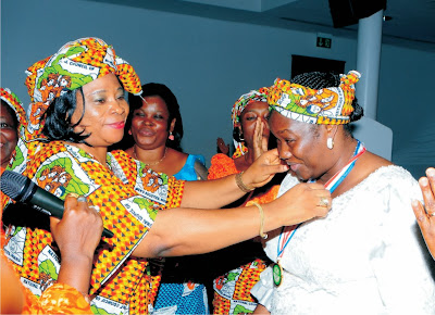 Mrs. Ekaette  Akpabio honoured by NCWS