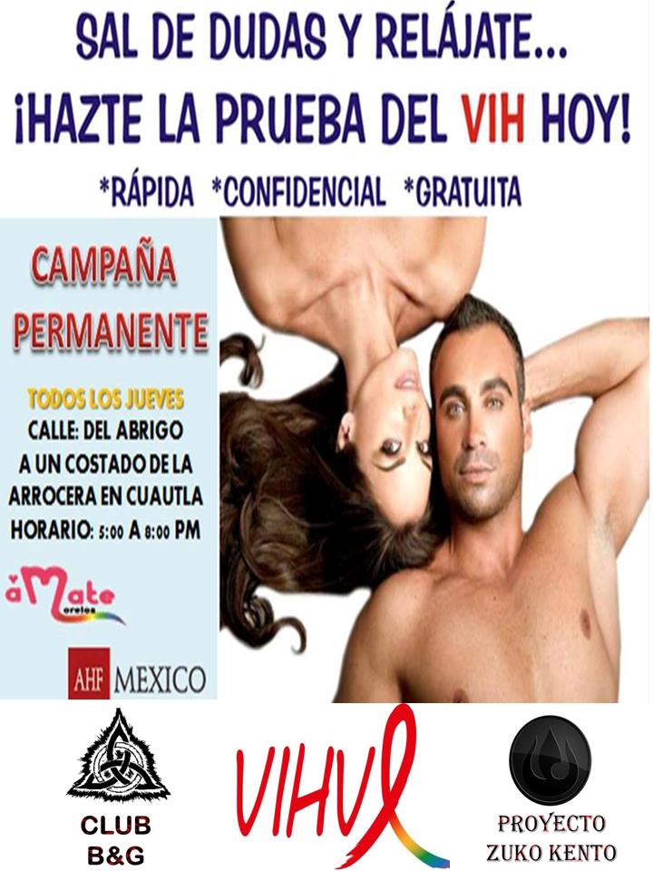PRUEBAS DE VIH PERMANENTES