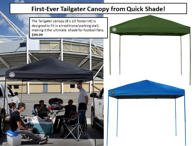 QUIK SHADE LAUNCHES FIRST CANOPY FOR TAILGATING + MUST HAVES FROM TAILGATE EXPERT  sc 1 st  TO You & TO You: QUIK SHADE LAUNCHES FIRST CANOPY FOR TAILGATING + MUST ...