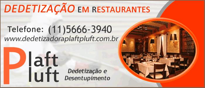 Dedetização em Restaurante São Paulo 24 horas