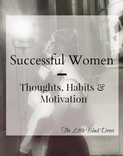 successful women motivation habits
