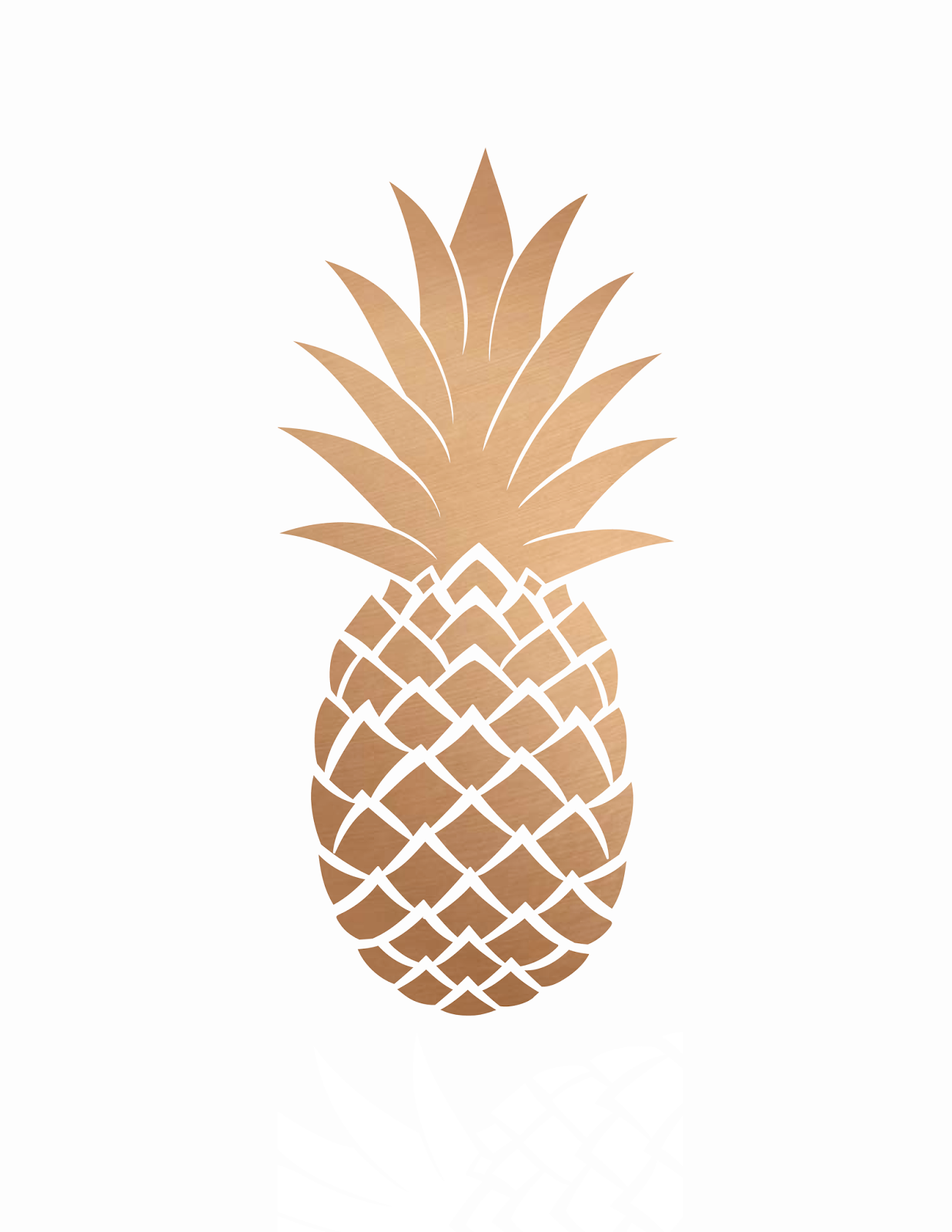 Oh So Lovely Blog Pretty Pineapple Printables