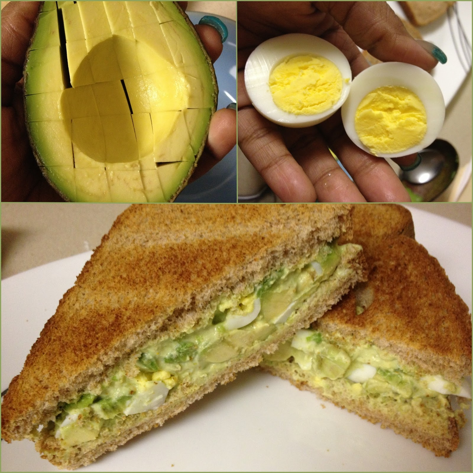 how to cut avocado for sandwich