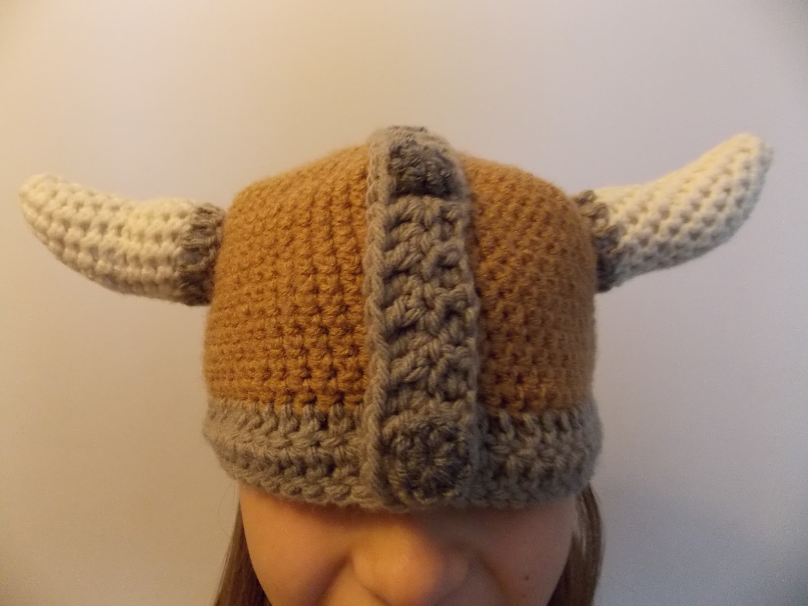 Viking Knitting Patterns : Great Grey Crochet: Viking Hat