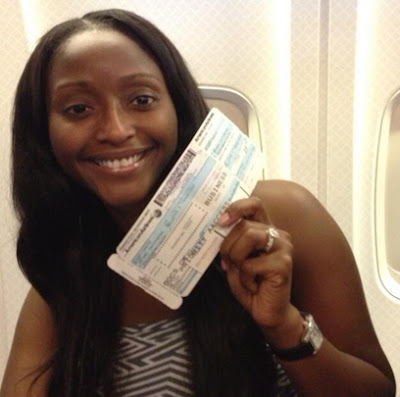 isha sesay honeymoon