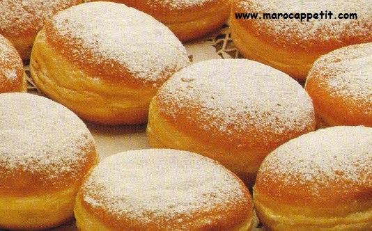 Beignets à la confiture | Donuts with jam