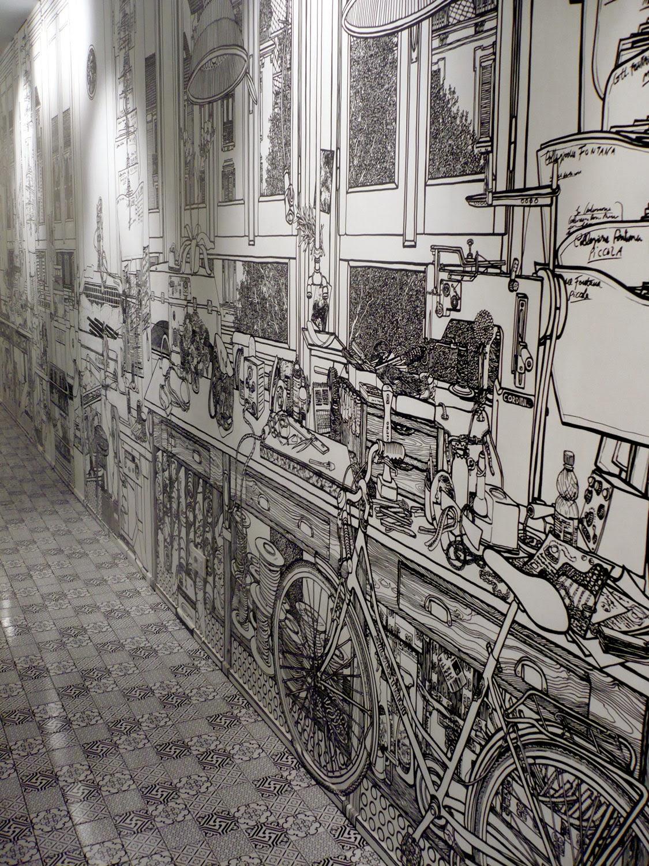 02-Artist-Charlotte-Mann-Draw-on-Walls-www-designstack-co