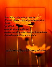 Qalam Cinta Saffiyah
