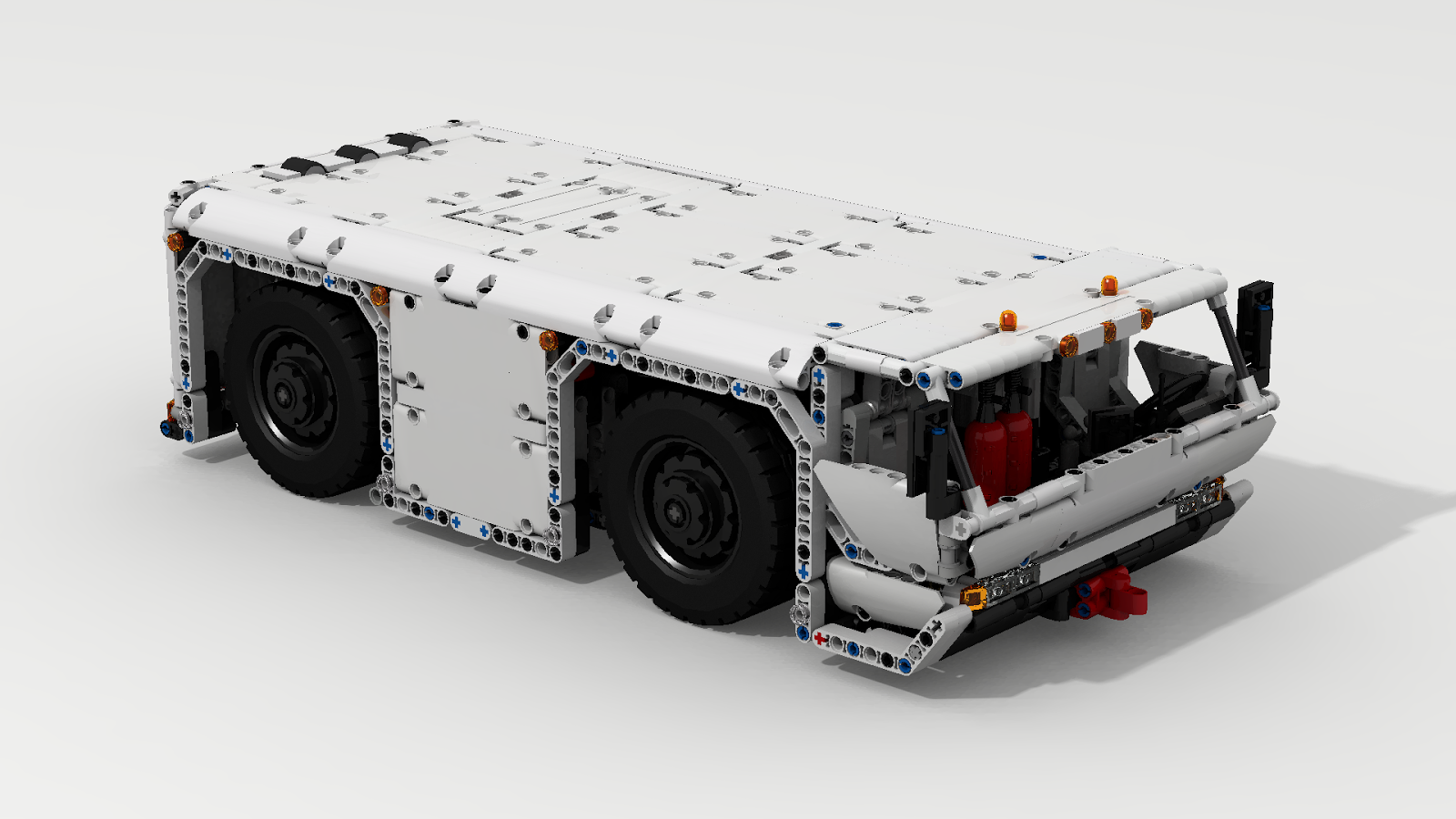 Battery Powered Lego Car