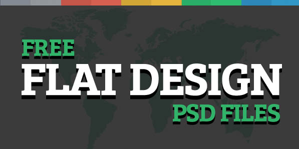 30 Free Flat Design Resources For Designers