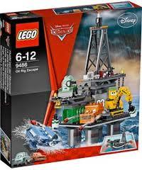Lego Cars  Oil Rig Escape Review