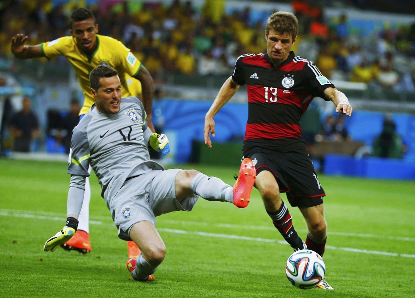 HD Thomas Mueller - 2014 FIFA World Cup Wallpapers