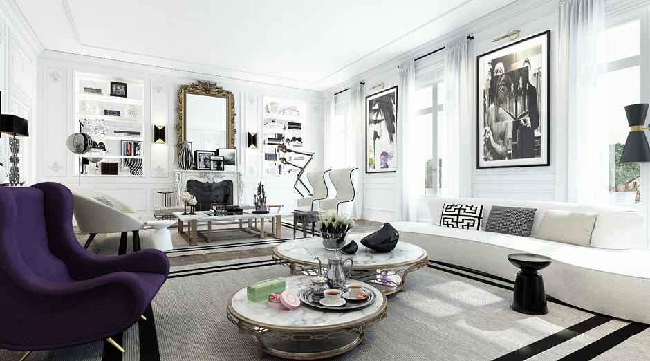 Loveisspeed ando studio is a digital imaging for Interior design agency paris