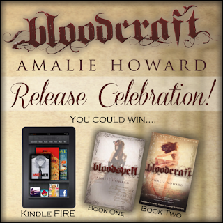 {Thanksgiving Giveaway} BLOODSPELL & BLOODCRAFT by Amalie Howard
