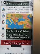 Agugliano 30 ottobre 2015 ore 17 Seminario. Scenari geopolitici
