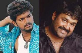 Mohanlal with Vijay in Tamil Movie JILLA