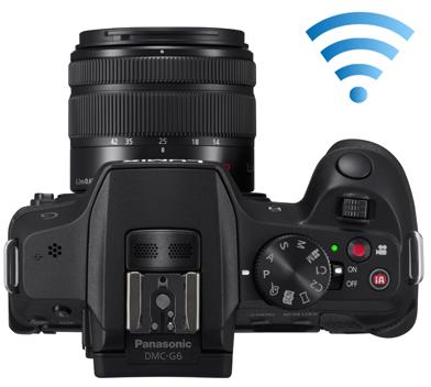 Fotografia dall'alto della Panasonic Lumix DMC-G6