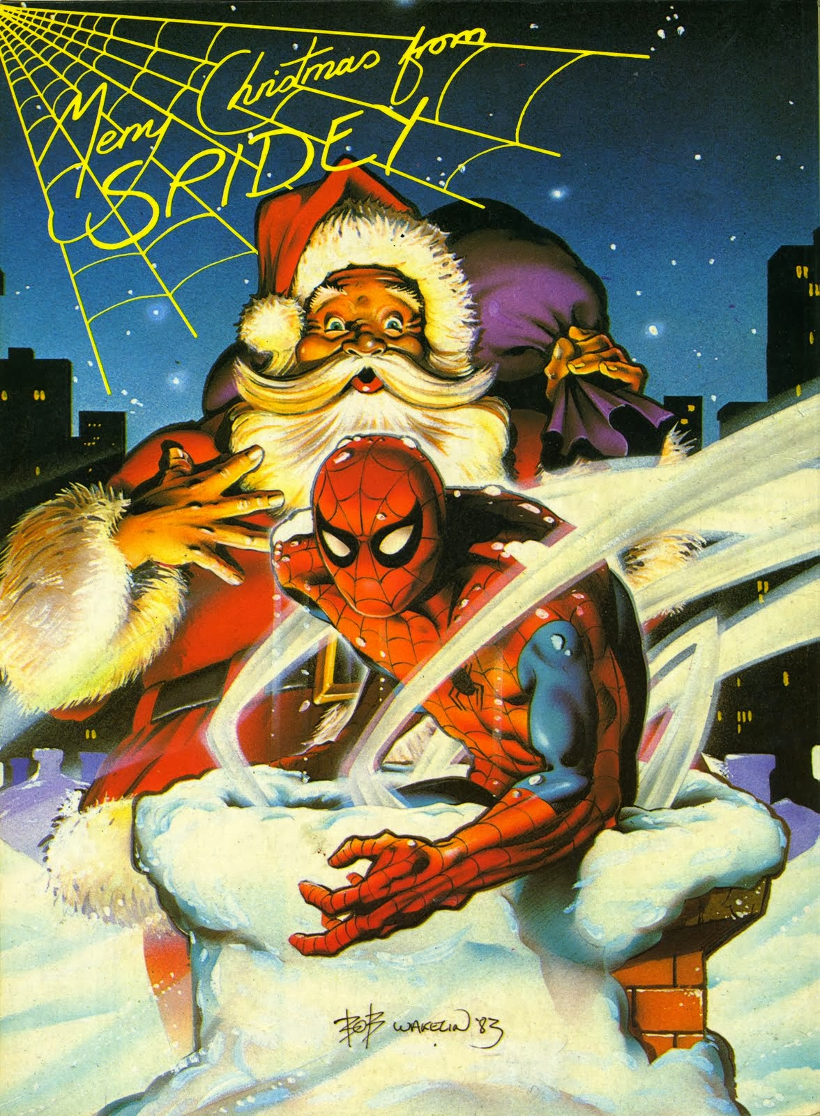 Bloody Pit of Rod: Merry Christmas From Spider-Man!