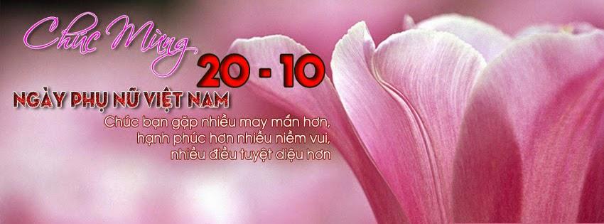 Facebook cover ảnh nền Facebook nhân ngày 20/10 đẹp độc ý nghĩa 9