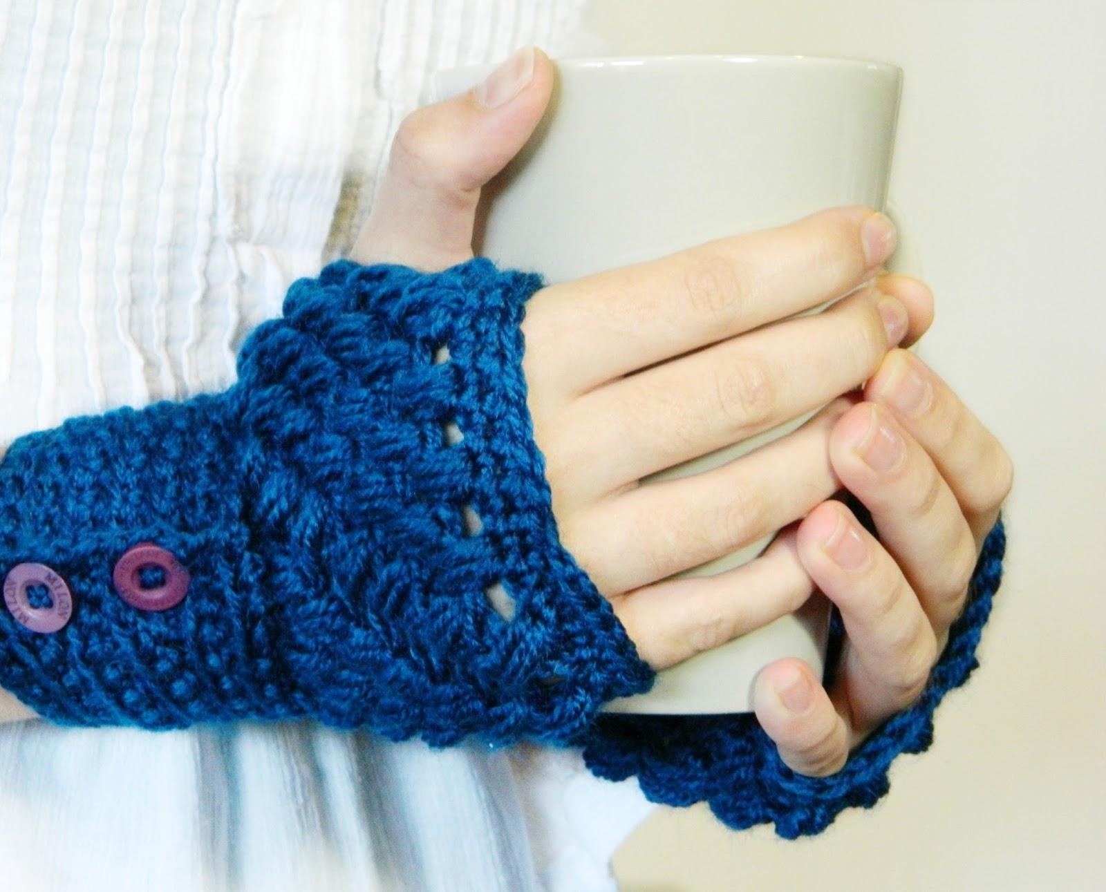 Fingerless gloves diy - And