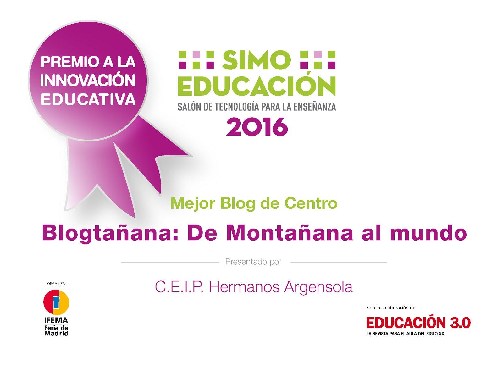 PREMIO EDUCACIÓN SIMO 2016