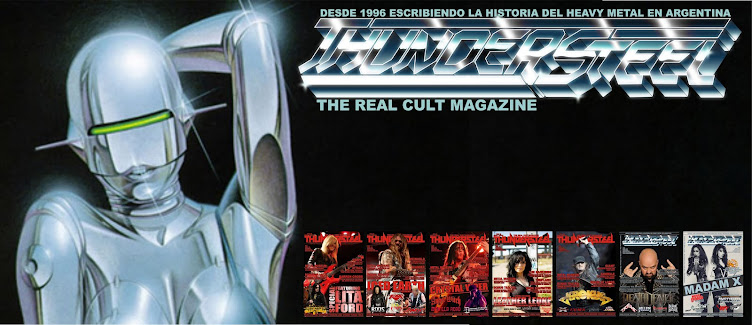 Esto es Thundersteel Magazine!