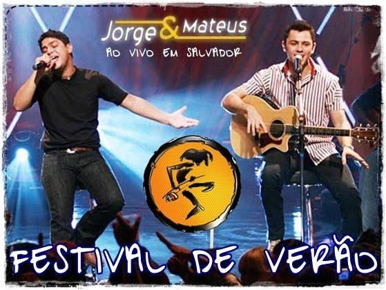 Jorge e Mateus  - Festival de Ver�o 2012