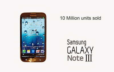 Galaxy Note 3 gave impressive figures, sold 10 million times