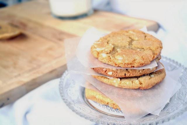 biscotti al cioccolato bianco / white chocolate cookies