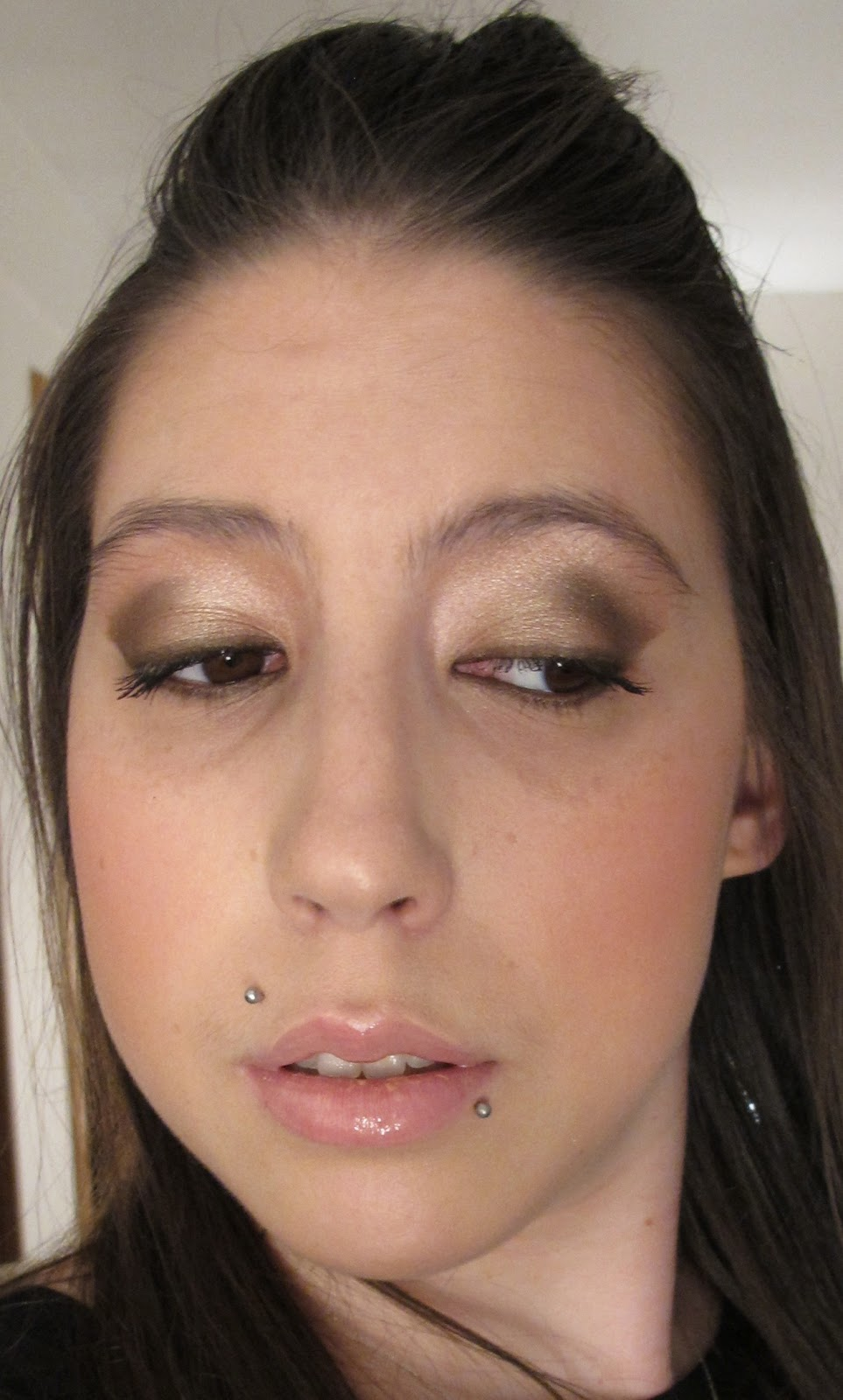 Steph Stud Makeup: Urban Decay Naked Nails using the