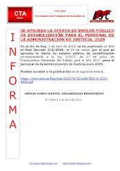 SE APRUEBA LA OFERTA DE EMPLEO PÚBLICO DE ESTABILIZACIÓN PARA EL PERSONAL DE LA ADMINISTRACIÓN DE J