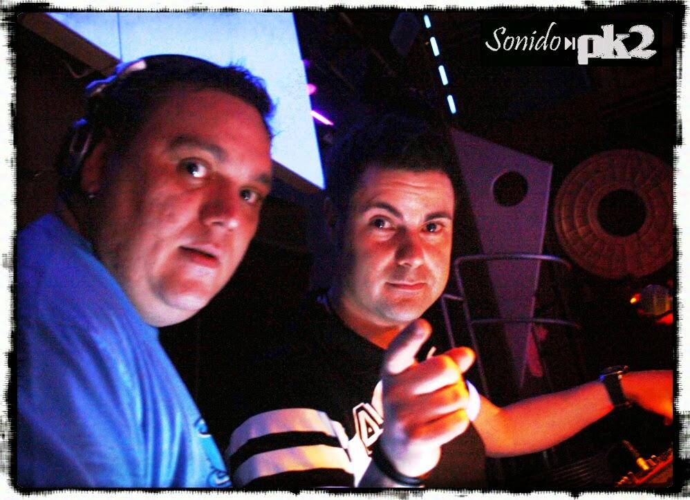 Takoni y Mole en Pk2 Allstars 2011 - Sala Non