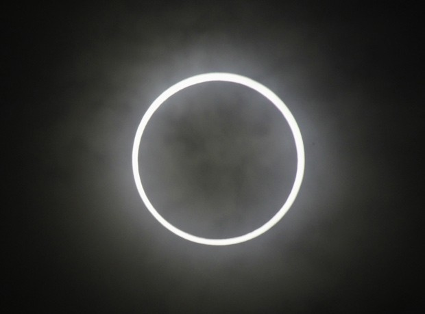 Eclipse anular do sol no Japão