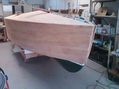 Current Project:16&#39; Gar Wood Speedster New Construction - Mahogany planking affixed