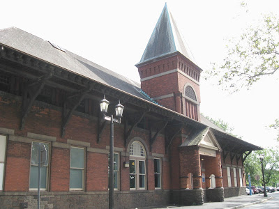 Mamaroneck Train Station in New York