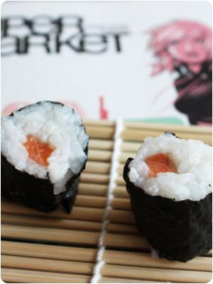 Supermarket Sushi mit Gari