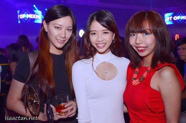 Joanna, Jessy, and Yukiko