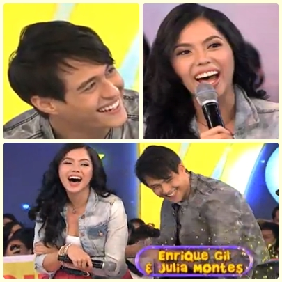 Julia Montes and Enrique Gil (JulQuen) on GGV