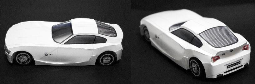 Papermau Bmw Z4 M Coupe Paper Car By Farewell The End